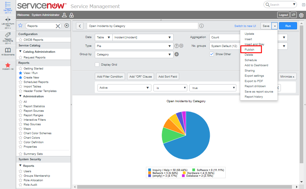 Report Distribution in ServiceNow | DxSherpa