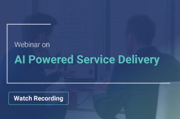 AI Powered Service Delivery