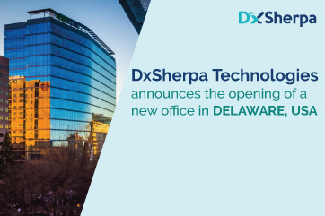 DxSherpa Technologies announces the opening of a new office in DELAWARE, USA