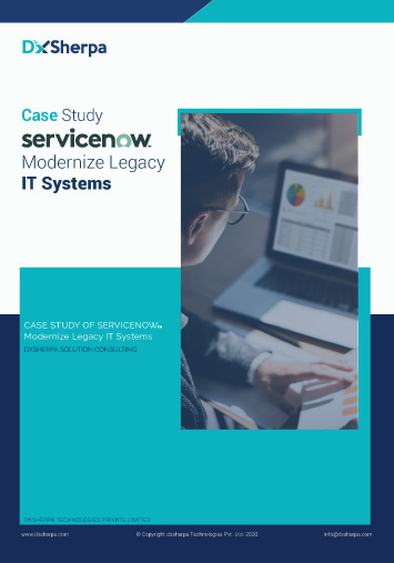 Business case study on ITSM legacy system modernization | Financial Services