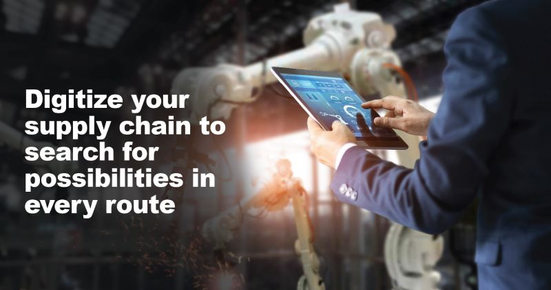 Digitize your supply chain to search title